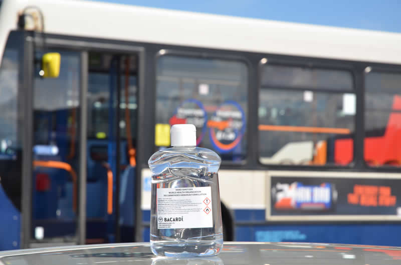 Local distillery supports bus drivers across Perthshire