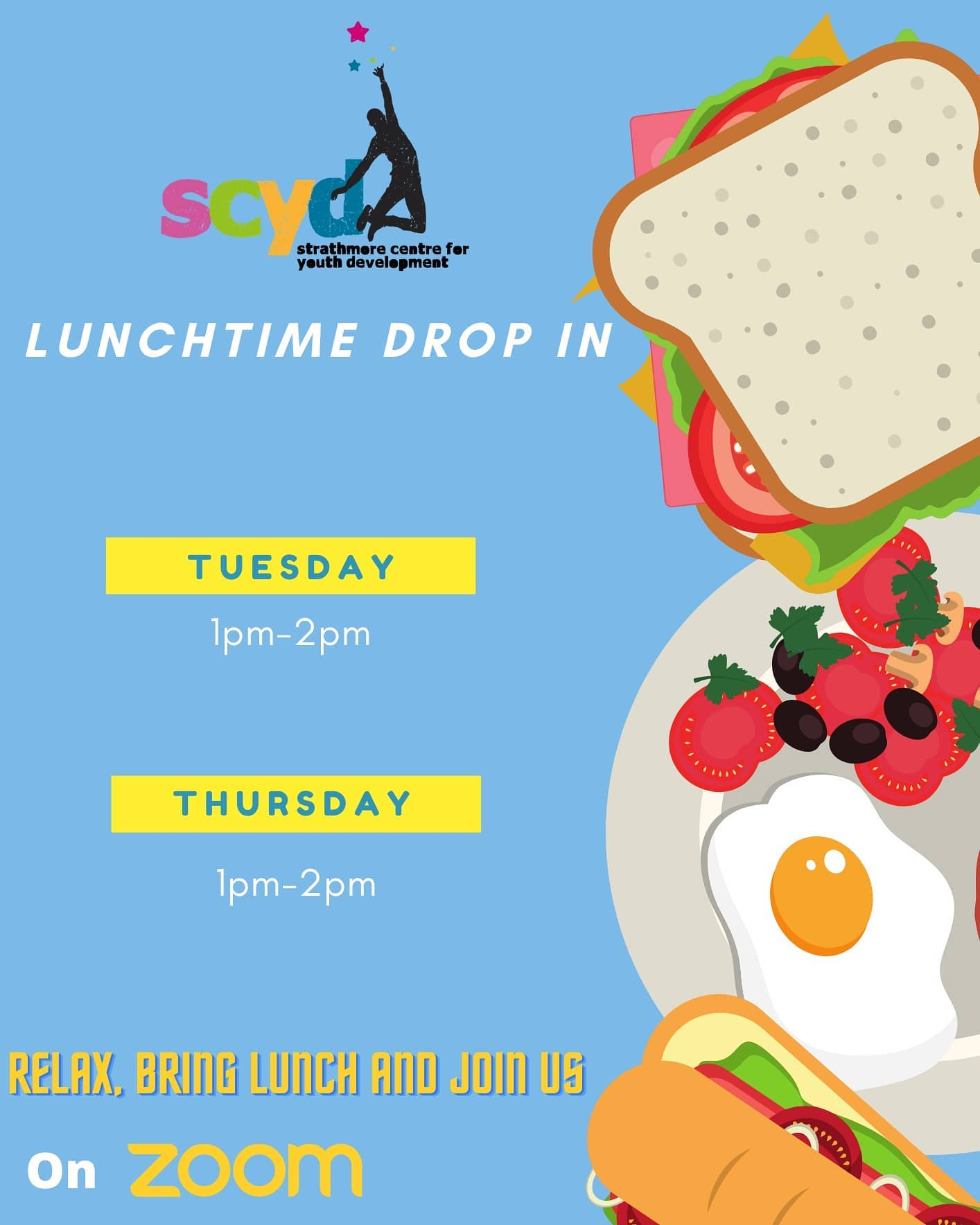 SCYD Lunchtime Drop In