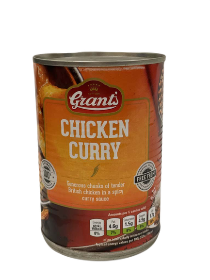Chicken Curry Grants