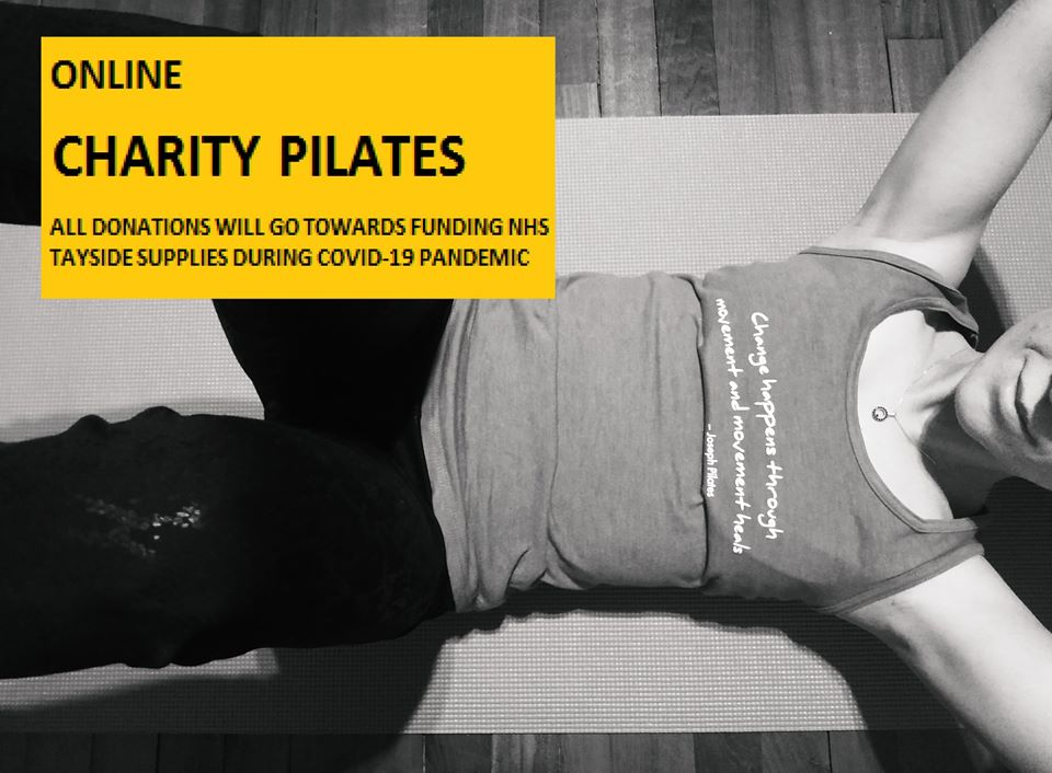 Online Charity Pilates