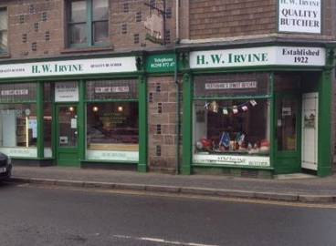 H W Irvine Butchers